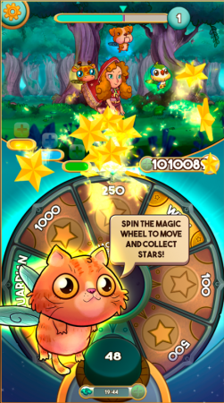 Run Lucky! A Fairy Tale Star