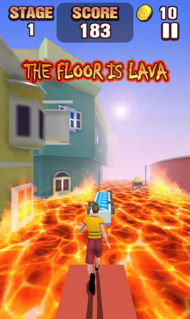 Пол это лава - The Floor Is Lava