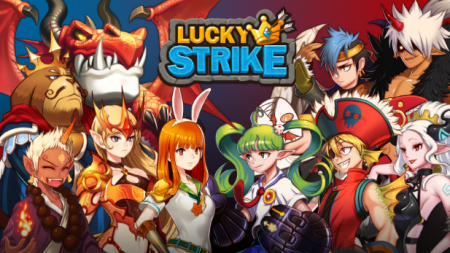 LuckyStrike: Slotmachine Puzzle RPG