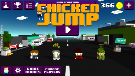 Chicken Jump - Crazy Traffic